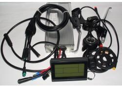 LCD Sada elekrické výbavy 250-1000W 36/48V zadní pro elektrokola