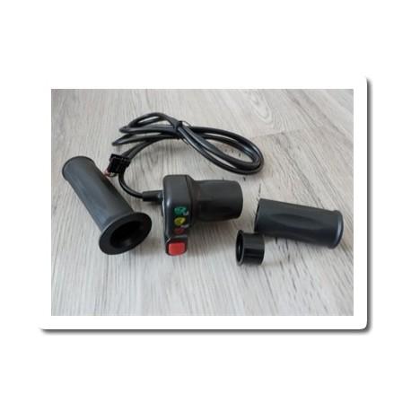 Otočné ovládání plynu s indikací 36V