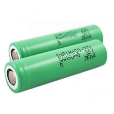 Aku Li-Ion Samsung INR18650-25R 3,6V 2500mAh Imax 20A