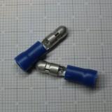 Konektor, kulatý, kolík, d:4mm