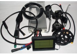 LCD Sada elekrické výbavy 1000W 48V zadní pro elektrokola
