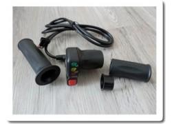 Otočné ovládání plynu s indikací 48V