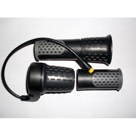 Poloviční otočný plyn - akcelerátor, voděodolný konektor