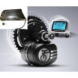 Středový pohon na elektrokolo 350W, 36V, torzní snímač momentu, LCD displej, neblokovaný, akumulátorem do rámu 13,2Ah 36V