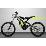 Elektrická motorka Sur-Ron Light Bee cross enduro výkon 5000W aku 60V 32Ah Li-ion, max 73km/h max 200Nm hmotnost 50kg