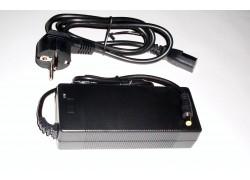 36V 2A Nabíječka pro baterie na elektrokola, Li-ion, mini DC 5,5/2,1