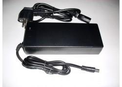 48V 2A Nabíječka pro baterie na elektrokola, Li-ion, mini DC 5,5/2,1