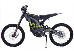 Elektrická motorka cross enduro freeride Sur-Ron Light Bee X 6kW šedá