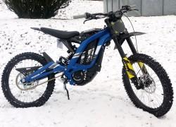Elektrická motorka cross enduro freeride Sur-Ron Light Bee X modrá